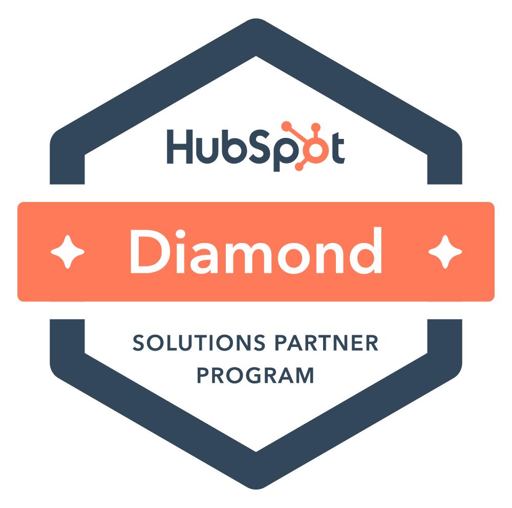 HubSpotダイアモンドパートナー