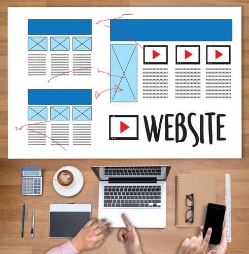 Webサイト定番デザイン